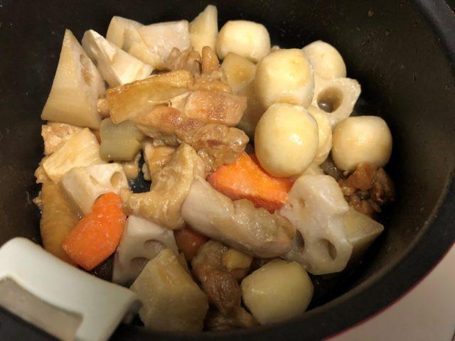 和風野菜ミックスを投入(中火)